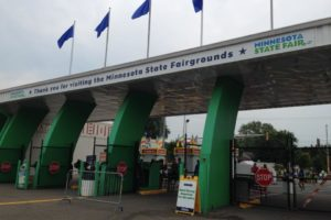 Main gate of the Minnesota State Fair