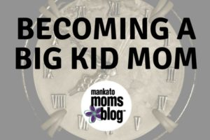 becoming a big kid mom