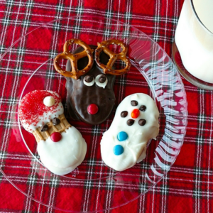 3 easy holiday cookies for kids