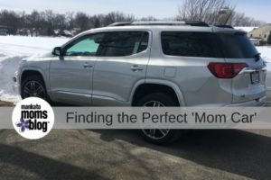 Finding the Perfect 'Mom Car'